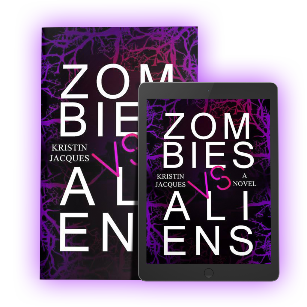 Read Zombies vs. Aliens by Kristin Jacques | www.kristinjacques.com